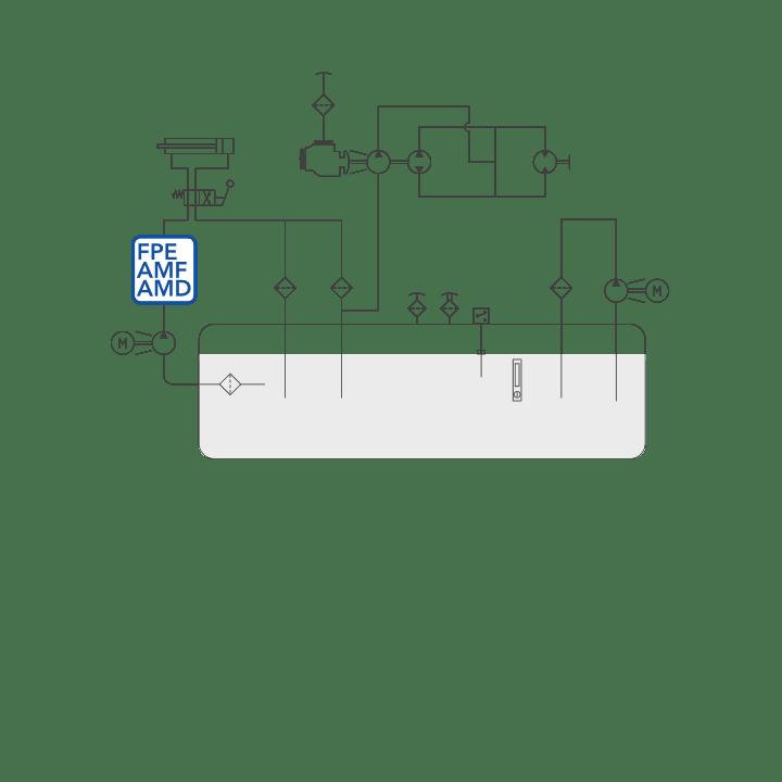 FPE – AMF – AMD diagram