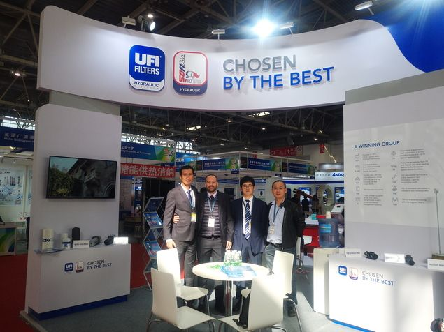 UFI Booth at CWP 2019