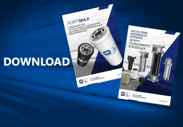 UFI Hydraulics Brochure in Russian