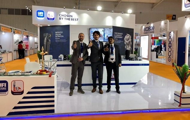 UFI Hydraulic Division at Excon