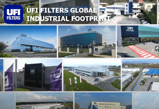 UFI FILTERS GLOBAL INDUSTRIAL FOOTPRINT