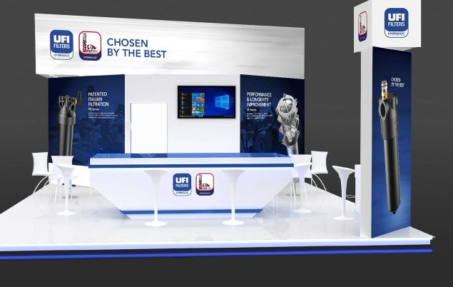 Render of UFI Stand at EXCON