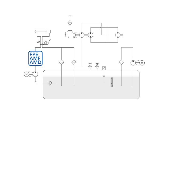 FPE – AMF – AMD diagram
