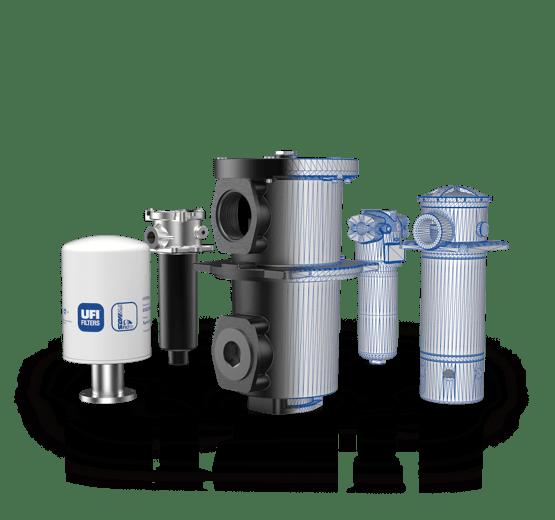 Ufi Hydraulic division - CAF 4.0